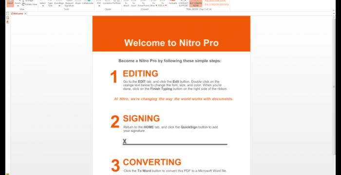 nitro pdf sur 01net